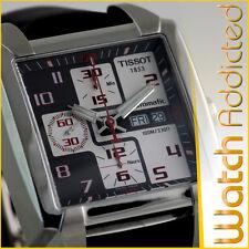 Tissot Herren Armbanduhr Quadrato Automatic Chronograph Valjoux T.005.514.16.062