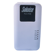 Solwise 500AV HomePlug Ethernet Adapter with 48V 802.3af Power over Ethernet PoE