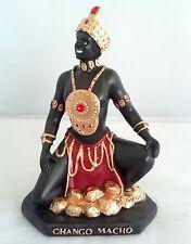 "8.5"" Inch Chango Shango Macho Statue Estatua Orisha Santeria Yoruba Lucumi"