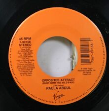 80'S / Pop 45 Paula Abdul - Opposites Attract / One Or The Other On Virgin
