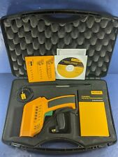 Fluke 574 Ir Infrared Precision Thermometer With Tc Deluxe Kit