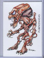 PUMPKINHEAD ** TRADING CARD ART SIGNED by RAK ** NEAR MINT ** SEE MY STORE
