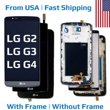 Replacement LCD Touch Digitizer Screen Assembly + Frame for LG G2 G3 G4 OEM USA