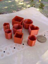 3D Printed Polymer Clay Cutter Stencil Set Usa seller!