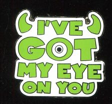 Monsters Inc. Booster I've Got My Eye On You Disney Pin 106774