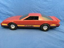 Vintage WRANGLER JEANS Chevy CAMARO Ertl Pressed Steel Toy Car Chevrolet IROC SS