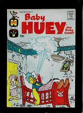 "BABY HUEY THE BABY GIANT #52 1963 HARVEY COMICS ""BABY HUEY AND PAPA"" SILVER AGE"