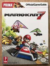 Mario Kart 7 3ds muy limitada Prima Oficial Edición De Coleccionistas guía Nuevo