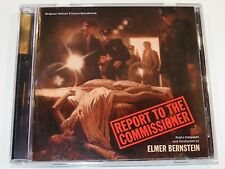 Elmer Bernstein REPORT TO THE COMMISSIONER Michael Moriarty Soundtrack CD (NM)