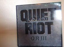 QUIET RIOT, QR III, LP VINYL 1986