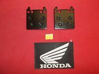 27-103 Emgo HONDA CB 750 SUPERSPORT / GL 1000 rear BRAKE PADS 32
