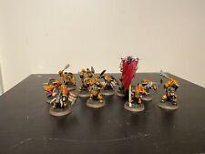 Warhammer Age of Sigmar Ironjawz Orruk  Ardboys x 10 lot 1