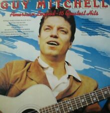 GUY MITCHELL - AMERICAN LEGEND - 16 GREATEST HITS - LP - MONO