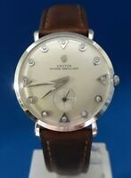 Mens Vintage 14 K Croton Nivada Grenchen Watch Watch.FREE PRIORITY SHIPPING.
