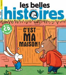 Les belles histoires N°553 C'est ma maison ! + le CD de l'histoire