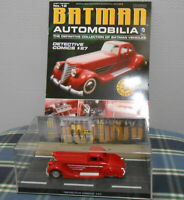 Eaglemoss Batman Automobilia -No.12 Detective Comics #27 +Book Collectable