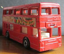 (C) 1972 Matchbox Lesney Superfast Die Cast Bus Model - No. 17 The Londoner