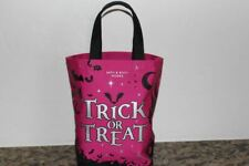 Bath & Body Works Trick-or-Treat Pink with Bats Tote~Halloween 2020~NWT~