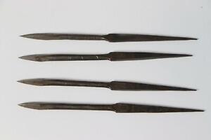 Japanese Antique Iron Stick Ninja tool 4 set WG90-1