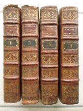 BUCHAN : MEDECINE DOMESTIQUE, 1788. 4 volumes (sur 5).