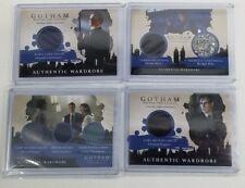Gotham Authentic Wardrobe cards(4) Penguin Riddler Catwoman Jim Gordon season 2