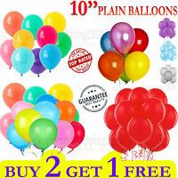 30 X Large PLAIN BALOONS BALLONS helium BALLOONS Quality Party Birthday Wedding.