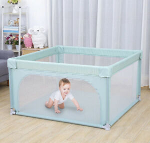 Portable Playpen Kids Safety Play Center Yard Home Indoor & Outdoor