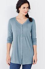 NWT  J. Jill Ultrasoft and Lightweight Linen-blend Breeze Tunic , L may fit XL