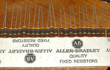 Allen Bradley Carbon composition 1W 4.7M GB4751 x 25