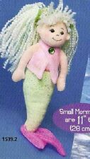 "Kiwi and Pink Mermaid 15392 11""  Douglas Cuddle Toys FREE US SHIPPING"