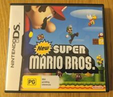 New Super Mario Bros. for Nintendo DS - PAL Version with game manual