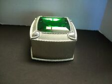 JUDITH RIPKA EMERALD GEMSTONE JEWELRY BOX