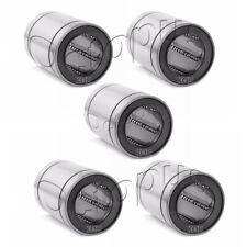 5PC Premium LM13 UU Metal Shielded Linear Bush Ball Bearing 13 x 23 x 32mm