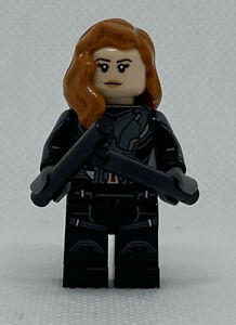 NEW LEGO Black Widow Red Hair GENUINE Minifigure 40418 Marvel Avengers Mini Fig