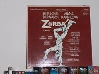 Zorba Original Broadway Cast 1969 LP Vinyl Capitol Records  SO-118