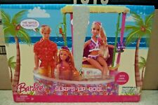 BARBIE SURF'S UP POOL & CABANA PLAYSET L9551 2007  *NEW*