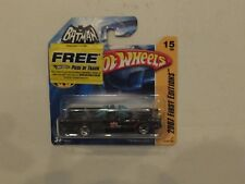 Hot Wheels 2007 First Editions TV Batmobile with free track offer (now closed).
