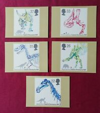 Dinosaurs PHQ Mint Postcards x 5 1991