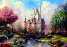 Disney Castle A4 art print, photo, picture