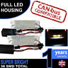 VAUXHALL Complete LED Number Plate Housings Canbus Super Bright Bulbs