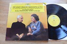 KARAJAN Strauss  Four Last Songs  TOMOWA-SINTOW LP DGG DIGITAL 419 188-1