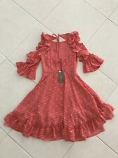 Pink Polka Dot Eureka Dress Made In Italy Size 40