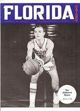 1968 FLORIDA GATORS vs Alabama Crimson Tide COLLEGE BASKETBALL PROGRAM Neal Walk