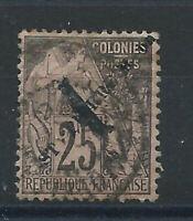 St Pierre et Miquelon N°45 Obl (FU) 1892 - Type Alphée Dubois