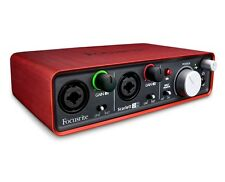Focusrite Scarlett 2i2 - Audio Interface USB 2.0 Sound Card 2nd Generation