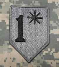 1* ONE ASS TO RISK ASTERISK ASSTERISK ACU DARK VELCRO® BRAND FASTENER PATCH