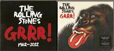 "Rolling stones ""Grrr 1962 - 2012"" 3 CD set special edition HMV"