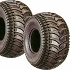 2) 22/11-8 22x11-8 Golf Cart Go Kart ATV Tires 4ply 22x11.00-8 22/11.00-8 D930