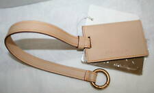 SALVATORE FERRAGAMO Pocket Mirror Metal Leather Case