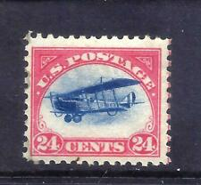 US Stamps - #C3 - MH  - 24 cent 1918 Curtiss Jenny Air Mail Issue - CV $65